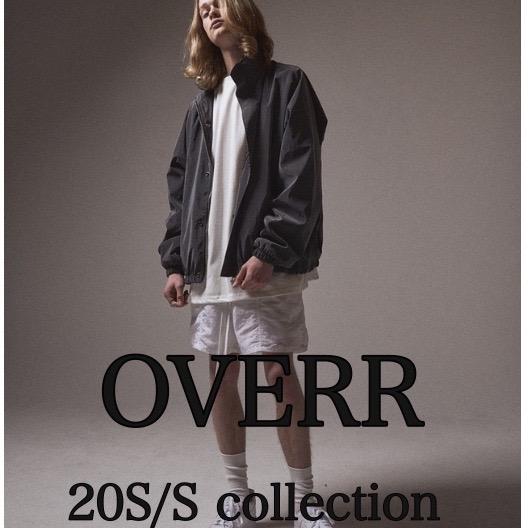 OVERR20S/S入荷!!